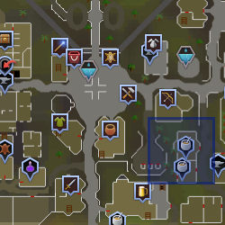 Rogue (Varrock) location