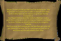 Sigrid's letter