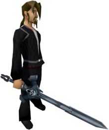 Wilderness sword 3 equipped