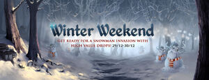 Winter Weekends banner 5