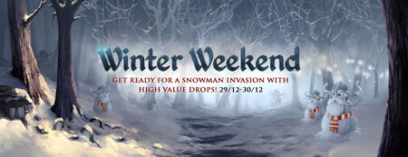 Winter Weekends banner 5
