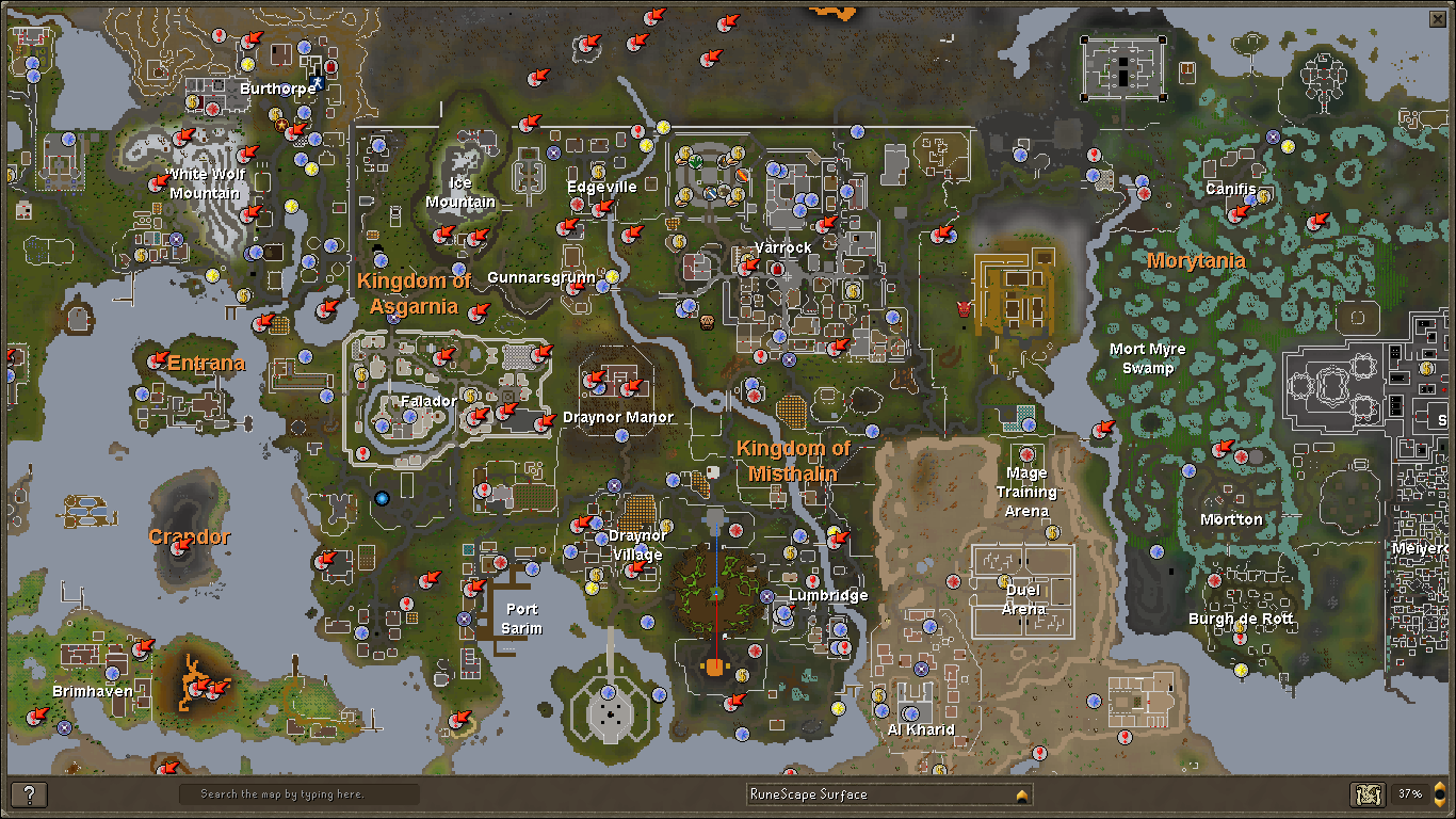 Image world map viewg runescape wiki fandom powered by wikia 1434 july 22 2013 gumiabroncs Gallery