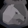 Arctic bear pouch(u) detail