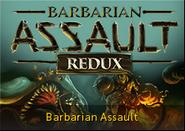 Barbarian Assault redux lobby banner