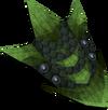 Green dragonhide shield detail