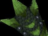 Green dragonhide shield