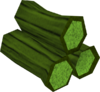 Green logs detail