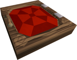 Mahogany trapdoor built