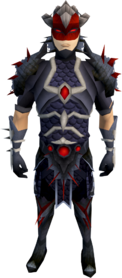 Royal dragonhide armour (male) equipped