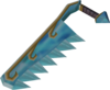 Crystal saw (Prifddinas) detail