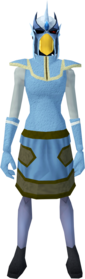 Mighty slayer helmet (ef) (blue) equipped