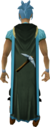 Mining cape (t) equipped