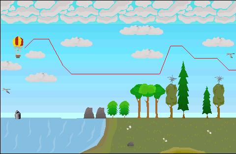 Balloon castle wars 2 path