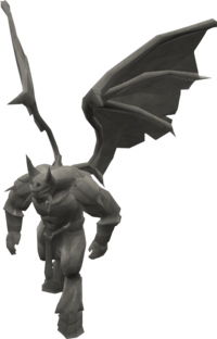 Basic demon statue