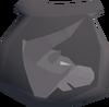 Bronze minotaur pouch(u) detail