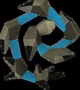 Chicote abissal (azul) detalhe
