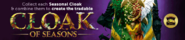 Cloak of Seasons lobby banner