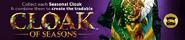 Cloak of Seasons lobby banner