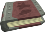 Decaying tome