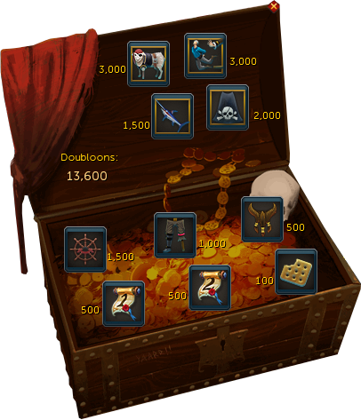 Doubloons interface