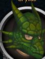 Green dragon mask chathead