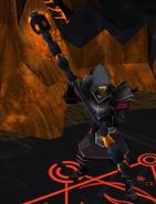 Zamorakian warlock 3
