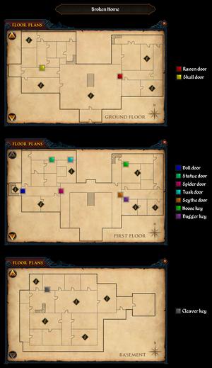 Broken Home map
