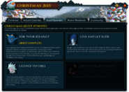 Christmas 2015 (Quest Episodes) interface