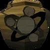 Cracked divination urn (nr) detail