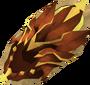 Dragonfire shield detail