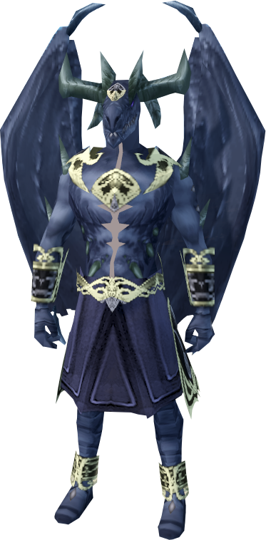 Image - Duskwing outfit equipped (male).png | RuneScape Wiki ...