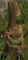 Evil hawthorn tree