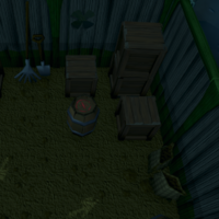 Hidey-hole Lumbridge Swamp shed