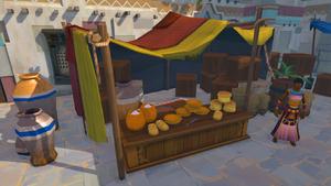 Nefertari's Bread Stall
