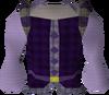 Purple elegant shirt detail
