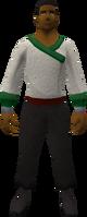 Retro cook's overalls