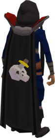 Retro slayer cape equipped