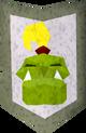 Rune kiteshield (Jogre) detail