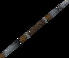 Steel spear detail