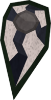 Third-age kiteshield detail
