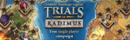 Trails of Radimus lobby banner