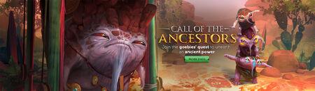 Call of the Ancestors head banner