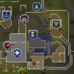Chancy (Varrock) location