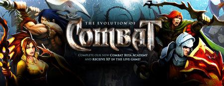 Combat Academy banner