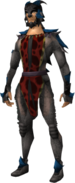 Dragon wolf outfit equipped (male)