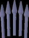 Dragonbane bolts (unf) detail