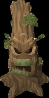 Evil oak tree