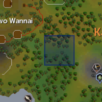 Gecko (blue) location