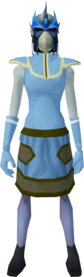 Reinforced slayer helmet (cf) (blue) equipped