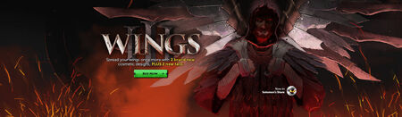 SGS - Wings III head banner